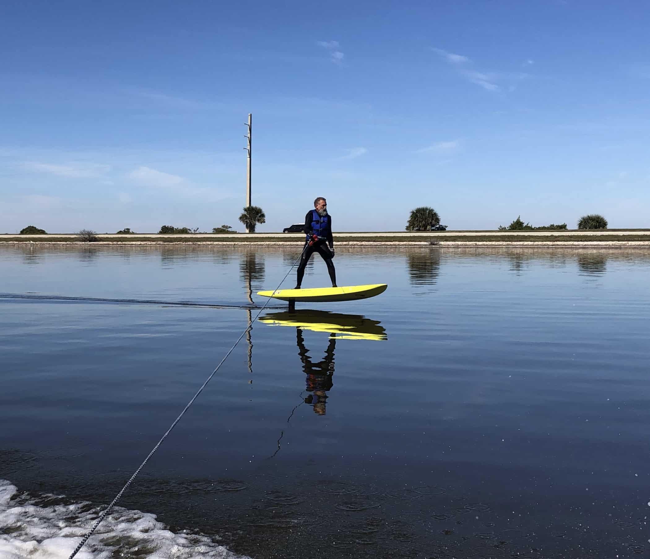 Foil Lesson, Hydrofoil, surf foill